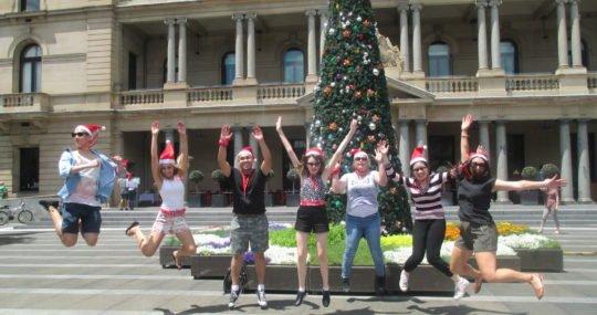 Christmas team building