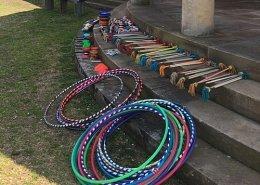Circus set up