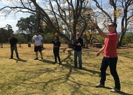 team building juggling