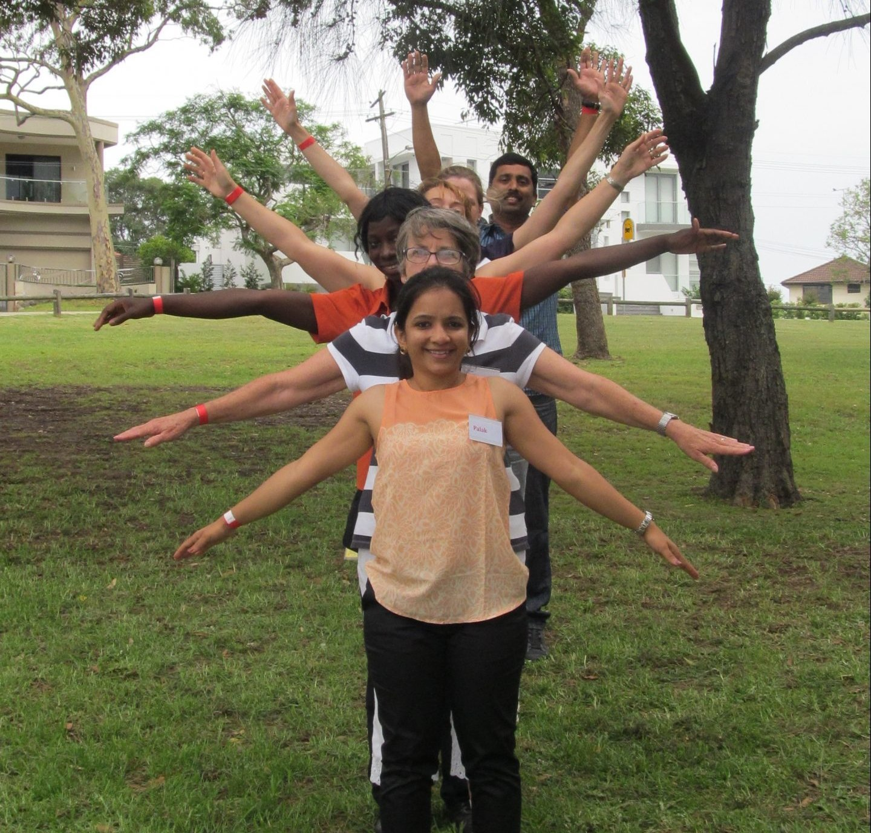 Fun team bonding
